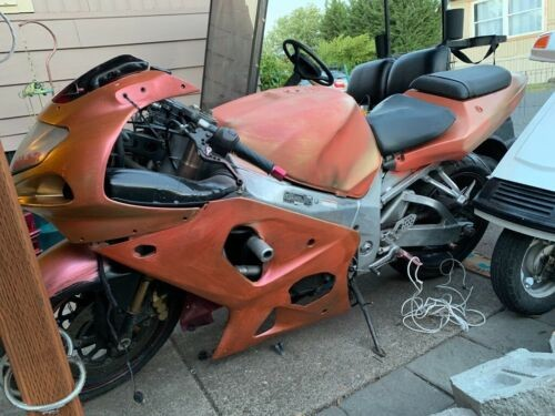 2002 Suzuki Gsxr 1000 Orange for sale