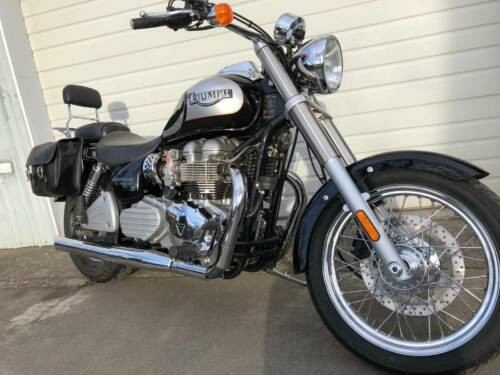 2002 Triumph Bonneville Black for sale
