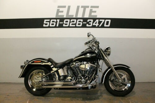 2003 Harley-Davidson Fat Boy 100th Anniversary Fatboy Black for sale