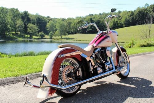2003 Harley-Davidson Softail Burgundy wine and sand for sale craigslist
