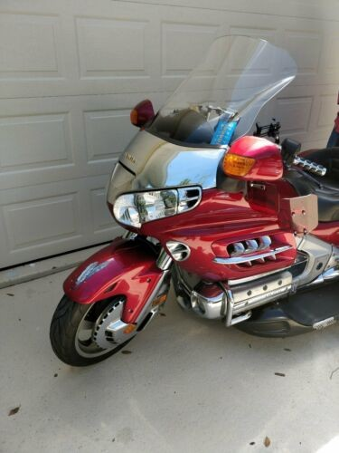 2003 Honda Gold Wing Burgundy craigslist