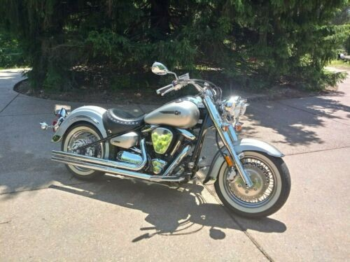2003 Yamaha Road Star Liquid Silver for sale