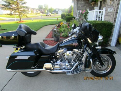 2004 Harley-Davidson FLHTI Black for sale craigslist
