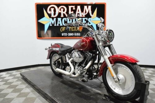 2004 Harley-Davidson FLSTF - Fat Boy -- Red for sale craigslist