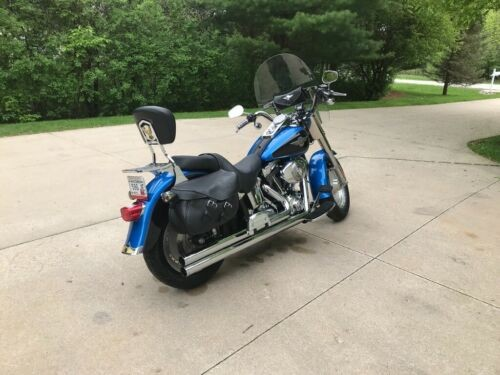 2004 Harley-Davidson Softail Blue for sale craigslist
