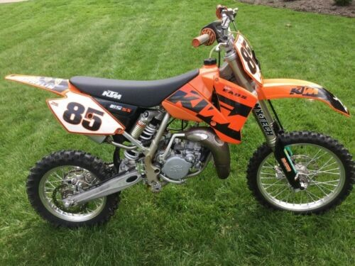 2004 KTM SX Orange for sale