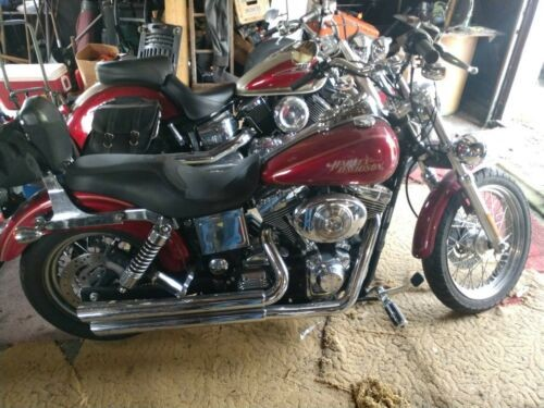 2005 Harley-Davidson Dyna Burgundy for sale