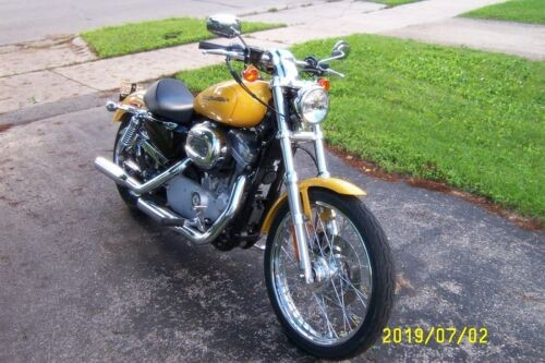 2005 Harley-Davidson Sportster Yellow pearl craigslist