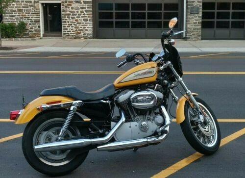 2005 Harley-Davidson Sportster Yellow for sale craigslist