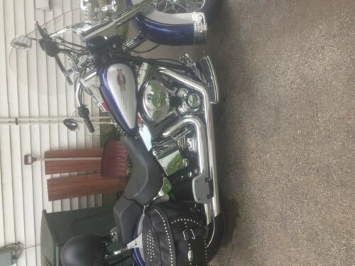 2006 Harley-Davidson Heritage FLSTC Softail Classic Blue/White for sale