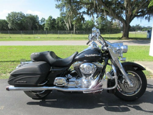 2006 Harley-Davidson Touring Road King Custom Black for sale craigslist