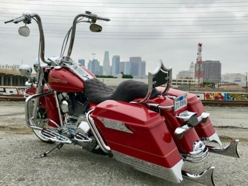 2006 Harley-Davidson Touring Firefighter Red / Gold Pinstripe for sale craigslist