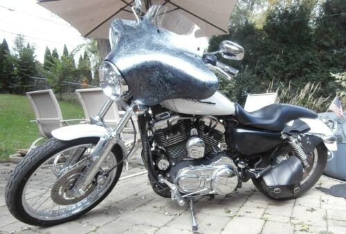 2006 Harley-Davidson XL1200C - Sportster® 1200 Custom White for sale craigslist