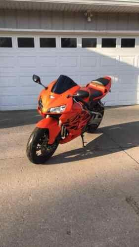 2006 Honda CBR Orange for sale craigslist