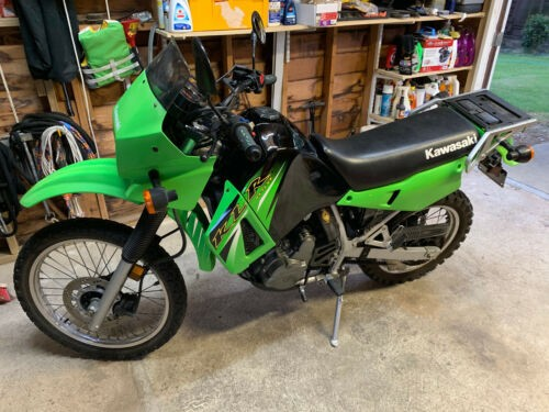 2006 Kawasaki KLR Green for sale craigslist
