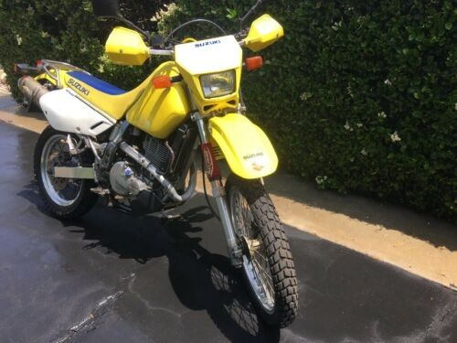 2006 Suzuki 650DR Enduro Yellow for sale craigslist