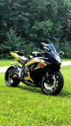 2006 Suzuki R750 BLACK/YELLOW for sale