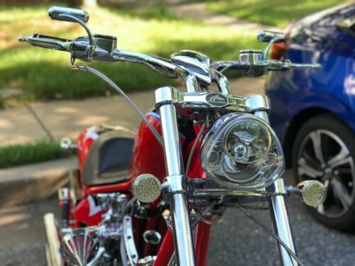2007 American Ironhorse Texas Chopper Red for sale