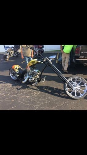 2007 Custom Built Motorcycles Chopper Yellow/Orange/Black for sale craigslist
