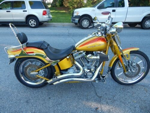2007 Harley-Davidson Softail Amarillo Gold and Candy Tangerine for sale craigslist