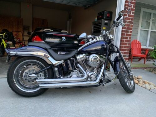 2007 Harley-Davidson Softail Blue for sale