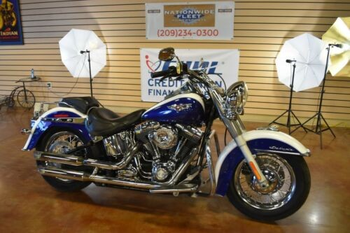 2007 Harley-Davidson Softail White / Blue for sale craigslist