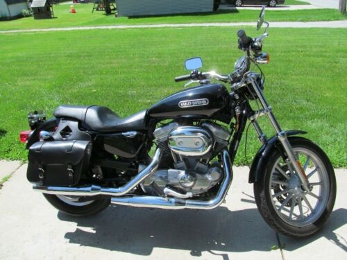 2007 Harley-Davidson Sportster Black for sale