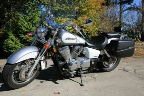 2007 Honda Shadow Silver for sale