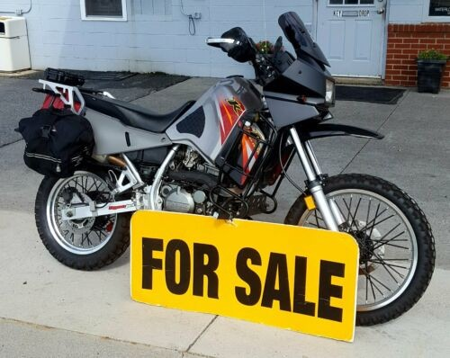 2007 Kawasaki KLR RED, BLACK, SILVER, GREY for sale