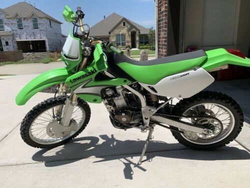 2007 Kawasaki KLX 300 Green for sale craigslist