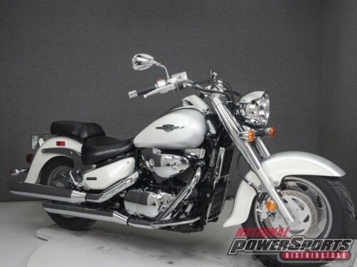 2007 Suzuki Boulevard C90 1500 PEARL GLASS WHITE/METALLIC SONIC SILVER for sale