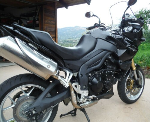 2007 Triumph Tiger Black for sale craigslist