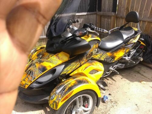 2008 Can-Am Spyder Yellow for sale