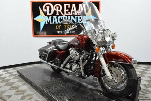 2008 Harley-Davidson FLHRC - Road King Classic -- Red craigslist