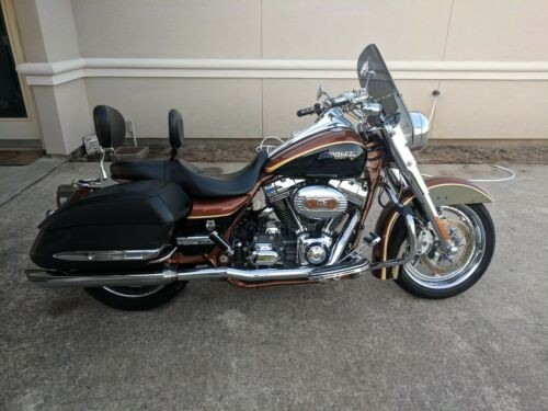 2008 Harley-Davidson FLHRSE4 Black Onyx/ Crystal Copper for sale craigslist