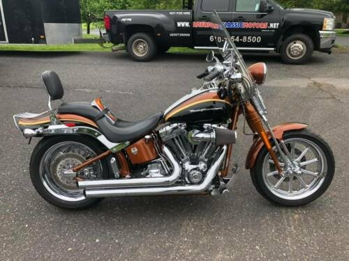 2008 Harley-Davidson Softail Crystal Copper/Black Onyx for sale craigslist