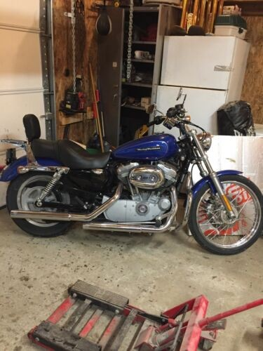 2008 Harley-Davidson Sportster Blue for sale craigslist