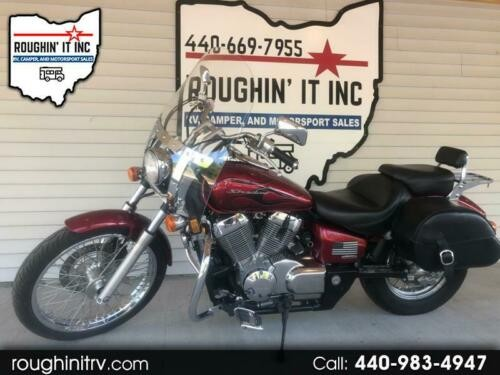 2008 Honda Shadow VT750c2F Red for sale craigslist