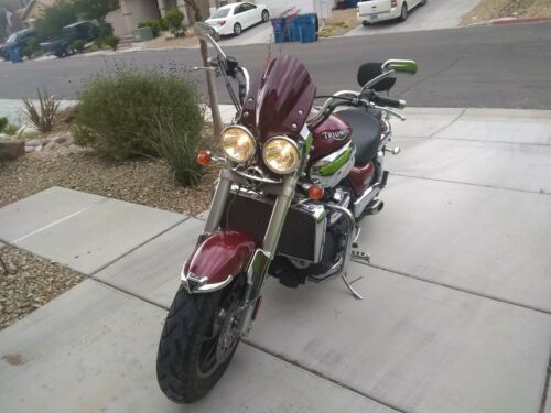 2008 Triumph Rocket III CHERRY RED craigslist