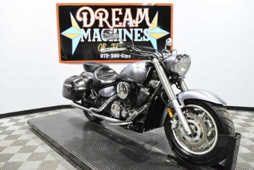 2008 Yamaha V Star 1300 Tourer - XVS13CTXB -- Silver for sale