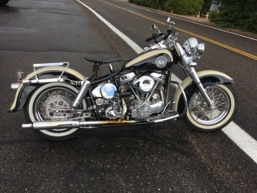 2009 Custom Built Motorcycles Other Antique White and Vivid Black for sale