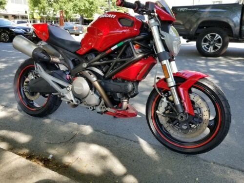 2009 Ducati Monster Red for sale