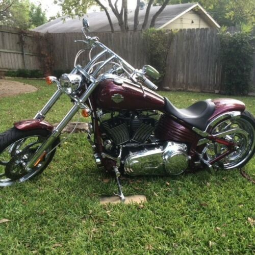 2009 Harley-Davidson FXCWC Maroon for sale