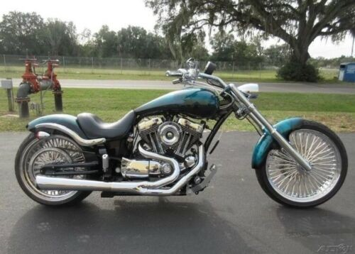 2009 Harley-Davidson Softail Teal for sale