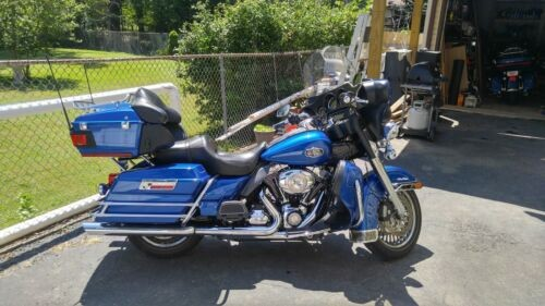 2009 Harley-Davidson Ultra Classic Flame Blue Pearl for sale craigslist