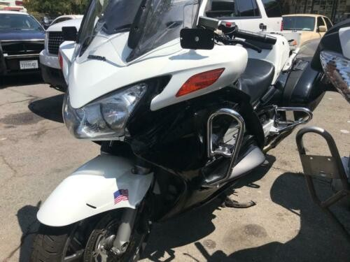 2009 Honda ST1300 POLICE Black N WHITE for sale