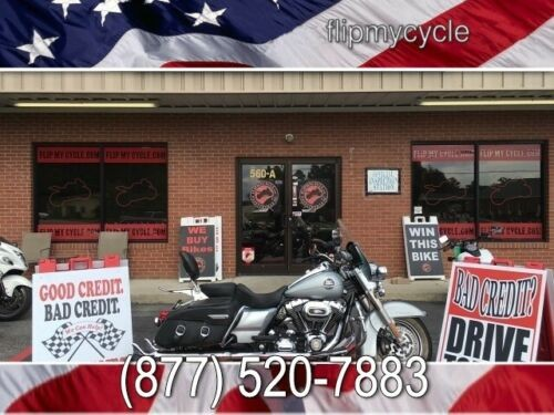 2010 Harley-Davidson FLHRC Road King Classic -- Gray for sale