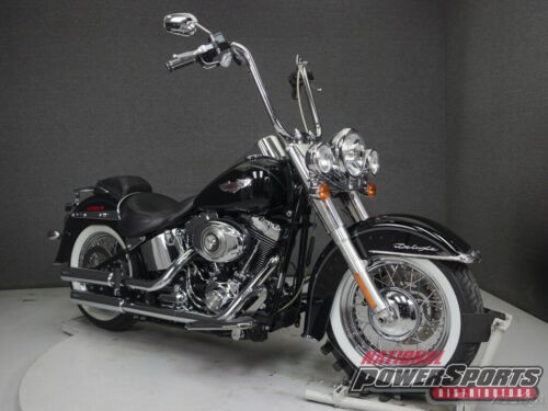 2010 Harley-Davidson Softail FLSTN DELUXE Black for sale