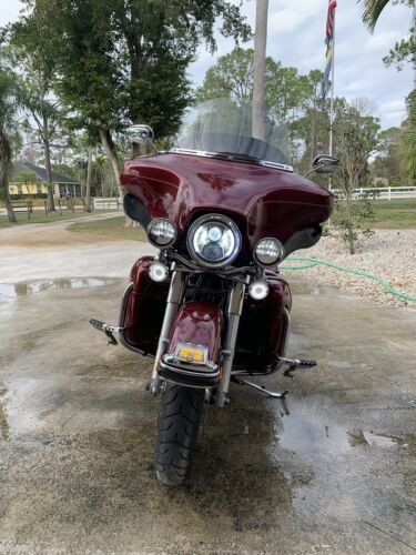 2010 Harley-Davidson Touring Sun-Glow Red for sale craigslist