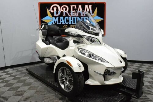2011 Can-Am Spyder RT-Limited SE5 -- White for sale